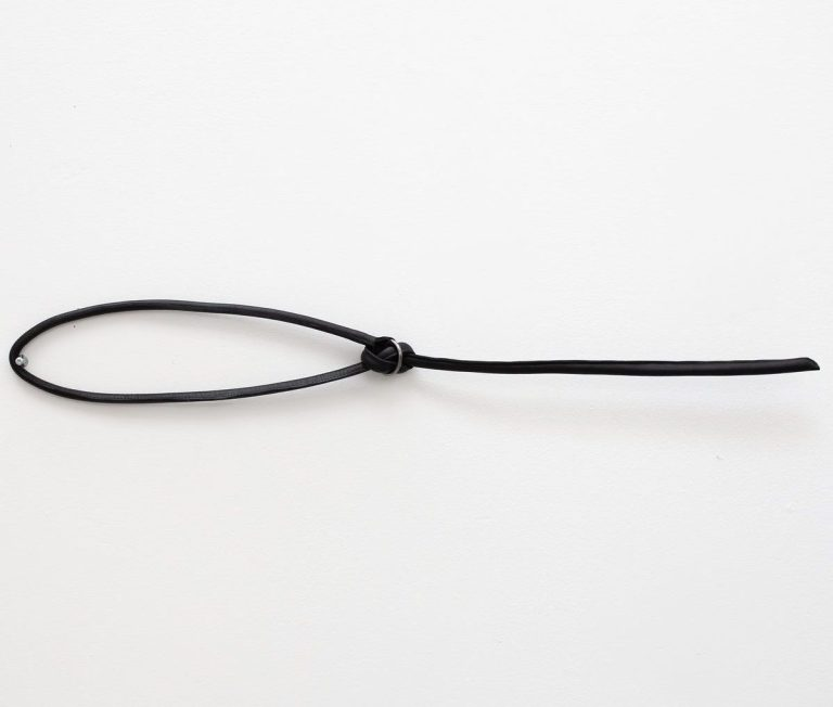 Leather necklace from June9Concept