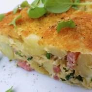 Easy Potato & Bacon Oven Frittata