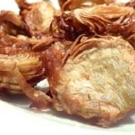 Easy Artichoke Crisps (Alcachofas Fritas Crujientes)