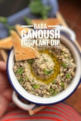 Best Baba Ganoush Recipe (Roasted Eggplant Dip)