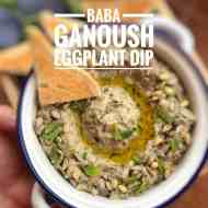 Best Baba Ganoush Recipe (Roasted Eggplant Dip)
