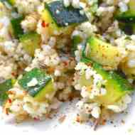 Easy Moroccan Couscous Salad with Zucchini