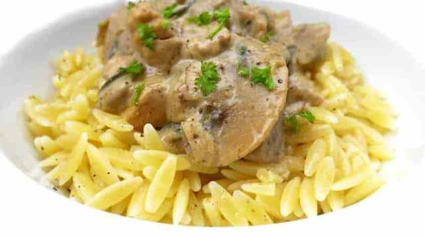 Craving a bowlful of steaming comfort food? Then try my turkey stroganoff with mushrooms, sour cream, turkey and whisky...
