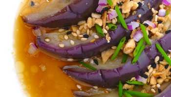 Szechuan eggplant pork recipe simple tasty good steamed eggplant chinese style forumfinder Gallery