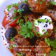 Easy Lamb Meatball Curry Recipe