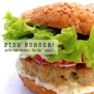 Fish Burgers & Homemade Tartar Sauce