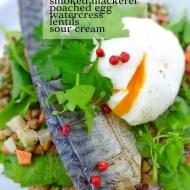 Easy Smoked Mackerel And Lentils