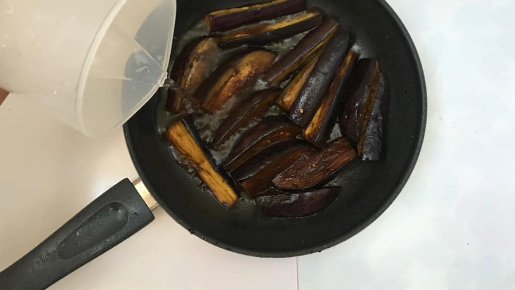 Do you like spicy food? Then you will just adore this hot and spicy Szechuan eggplant dish with ground pork and soy sauce!