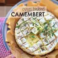 Easy Gooey Oven Baked Camembert Recipe
