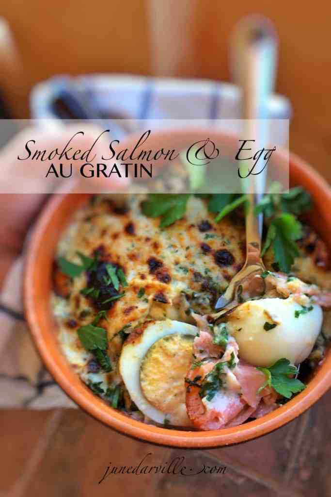 Eggs au gratin... ever thought of preparing this dish? Another recipe for if you got some leftover hard-boiled eggs in your fridge!