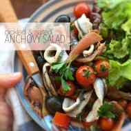 Easy Tomato Anchovy Salad with Olives