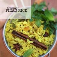 Pilau Rice Recipe (Eastern Fragrant Rice)