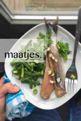 What are maatjes, Dutch new herring and matjes herring