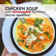 Easy Chicken & Carrot Noodle Soup Recipe