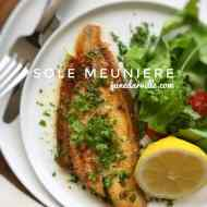 Best Butter Sole Meuniere Recipe