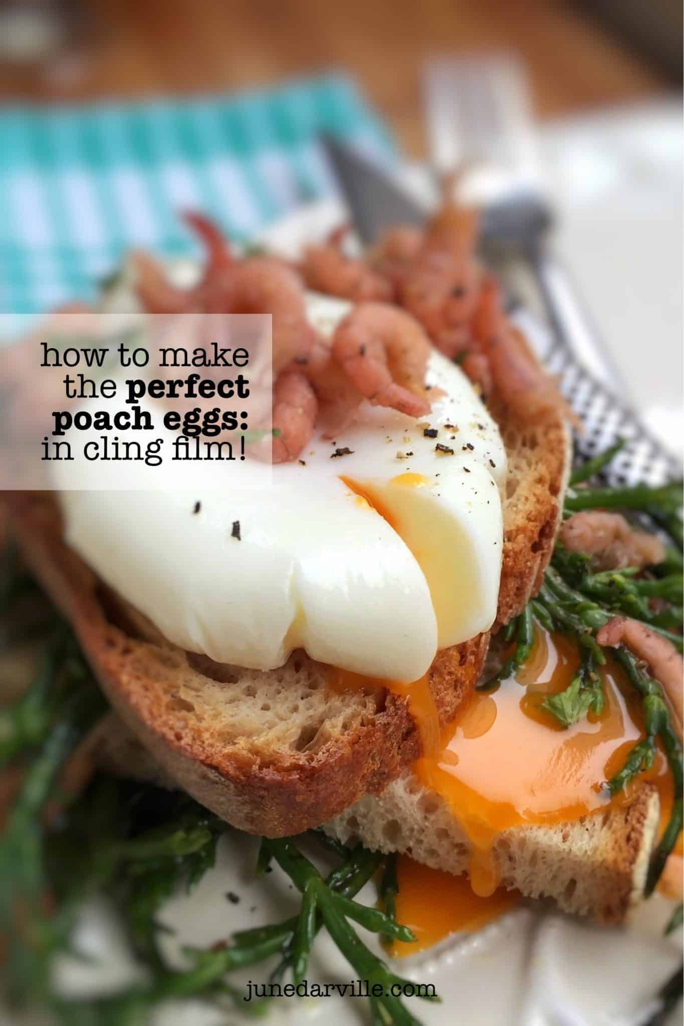 Ever heard of the Arzak egg? Here's how to make perfect poached eggs: take a look at this easy cling film method with pictures!