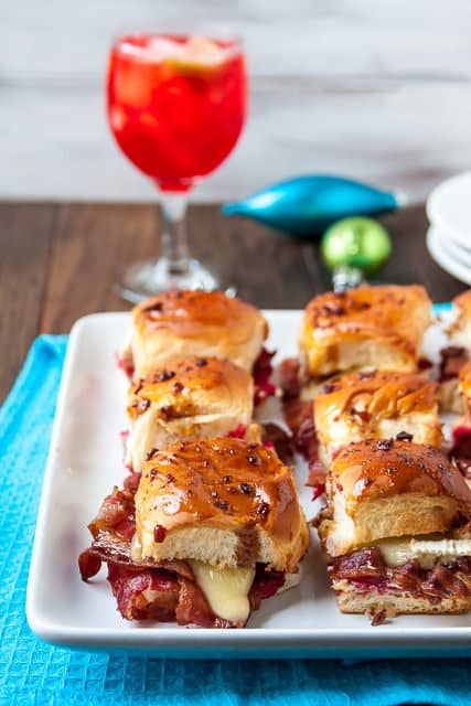 Baked Barbecue Chicken Sliders