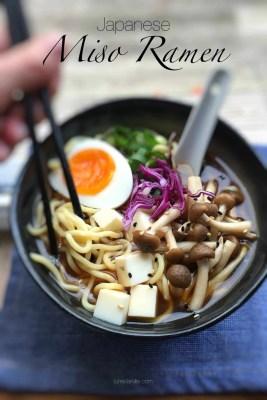 Easy Japanese Miso Ramen Soup Recipe