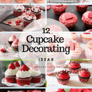 12 Easy Valentine Cupcakes Decorating Ideas