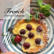 Easy French  Cherry Clafoutis Recipe