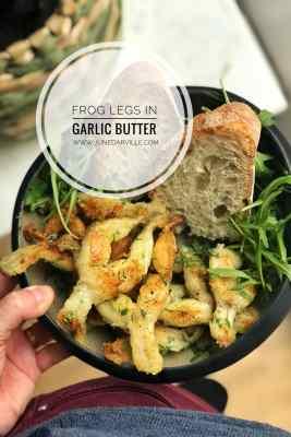Easy 10 Minute Frog Legs Recipe in Garlic Butter