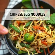 10 Minute Chinese Stir Fried Noodles