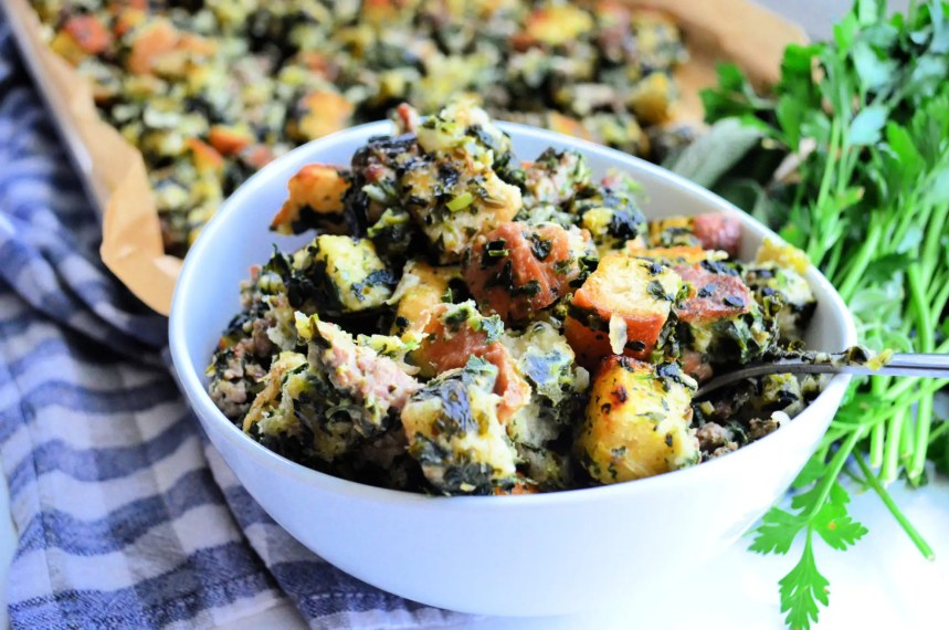 Keeping your Thanksgiving turkey stuffing classic or are you looking for a stuffing with creative twist this year? Check out these 20 stuffing recipes!