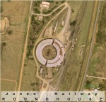 Junee Roundhouse Aerial View