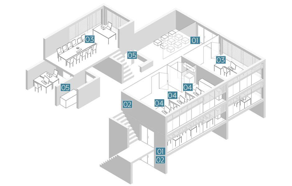 jung in use office building scenario