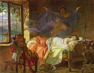 briullov_karl_-_a_dream_of_a_girl_before_a_sunrise