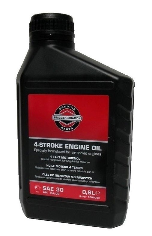 Briggs And Stratton Sae30 Engine Oil 0 6ltr Lawnmower