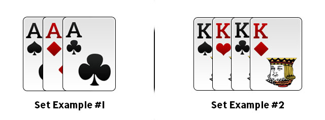 Set in Rummy Example