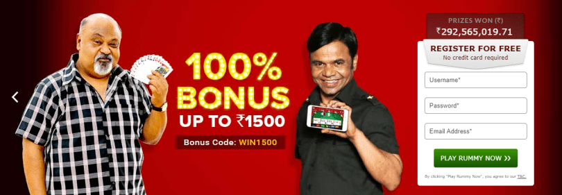 Junglee Rummy Register Now
