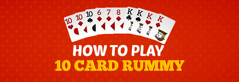 10 cards rummy