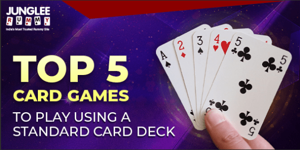 Top 5 Card Games You Can Play Using a Standard Card Deck