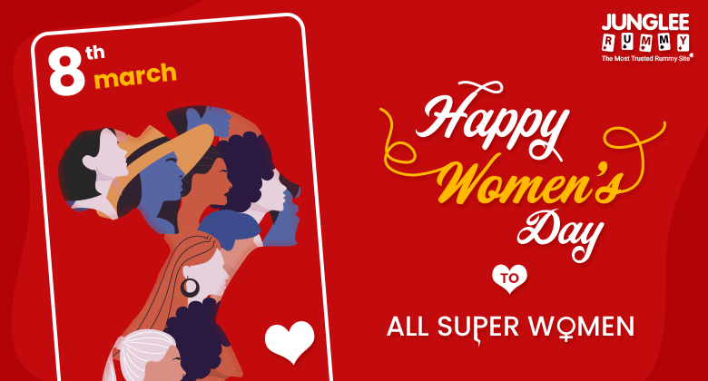 Women's day rummy