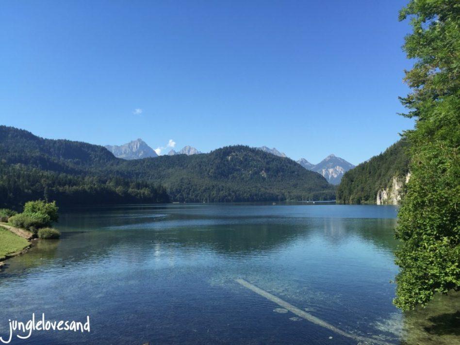 Alpen 1. Etappe 27.8. Allgäu Alpsee (7)