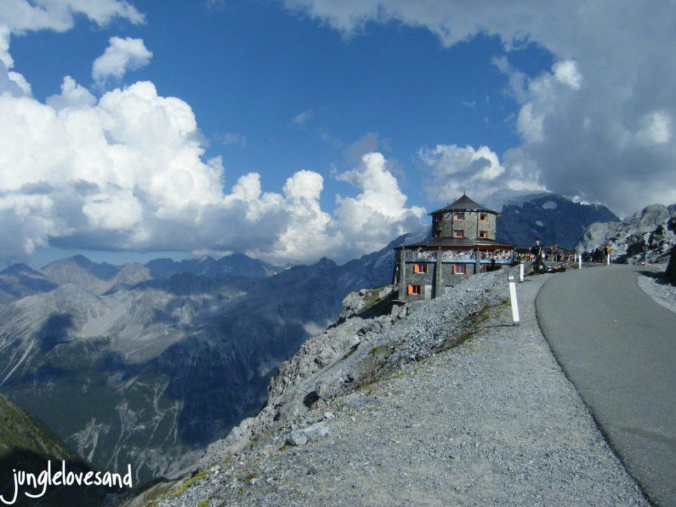 Alpen 1. Etappe 27.8. Schweiz Stelvio Pass (4)