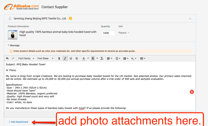 Jump Send- email template