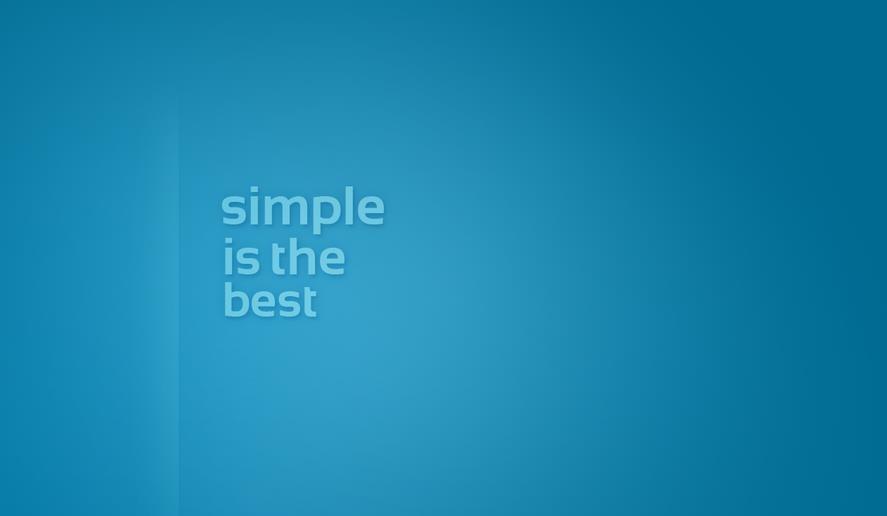 simpleisthebest