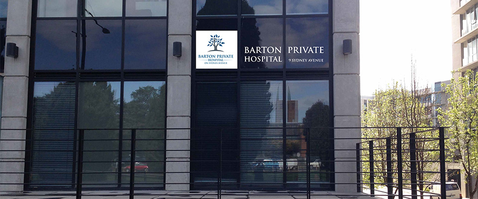 Barton Private Hospital Canberra