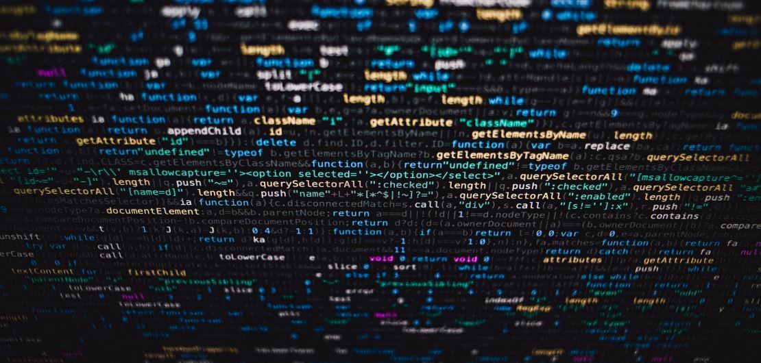 Photo ligne de code CSS pour site internet