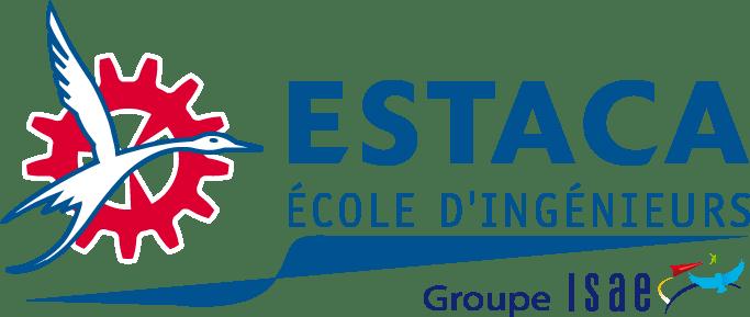 Ancien logo de l'ESTACA de notre école