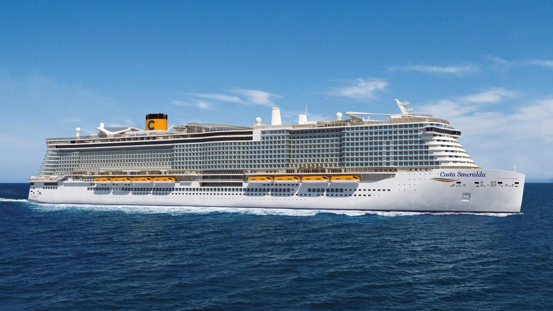 (émissions des navires) Navire de croisière au GNL : Costa Esmeralda