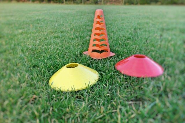 using cones for kids Trial Training - II