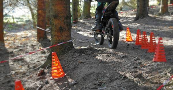 Trial Section traning with cones