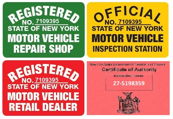 Nys Motor Vehicle Inspector License Best Vehicles 2017. Registration And Inspection Sticker Placement
