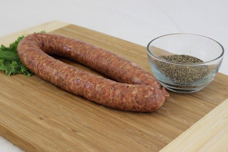 pork beef sausage