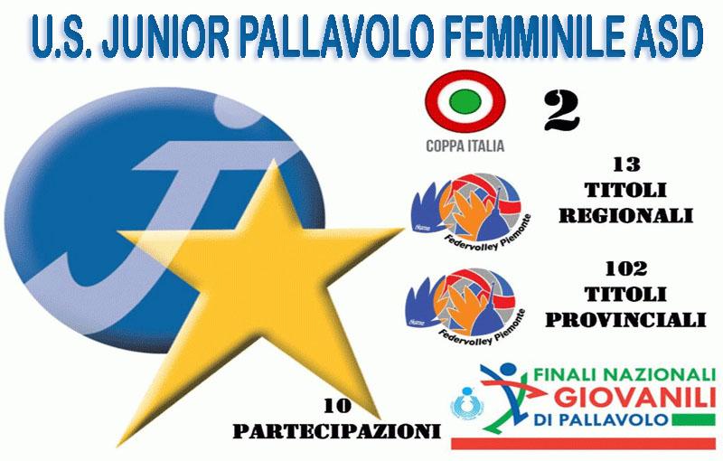 U.S. JUNIOR PALLAVOLO FEMMINILE ASD