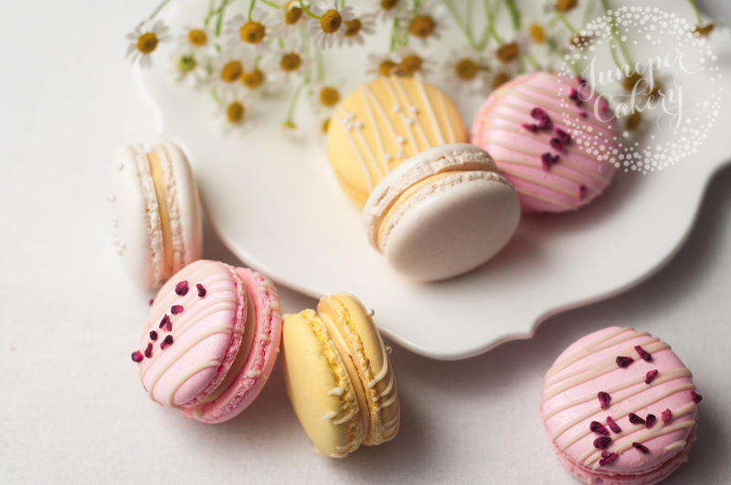 Mother's Day macarons in Yorkshire